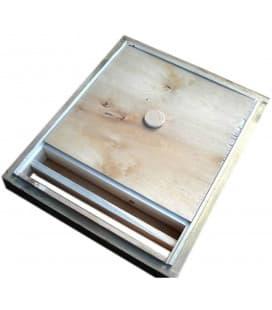 Скребок пчеловодный оцинкованный металл